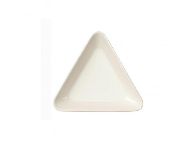 Miska trojúhelníková Teema iittala 12 cm bílá