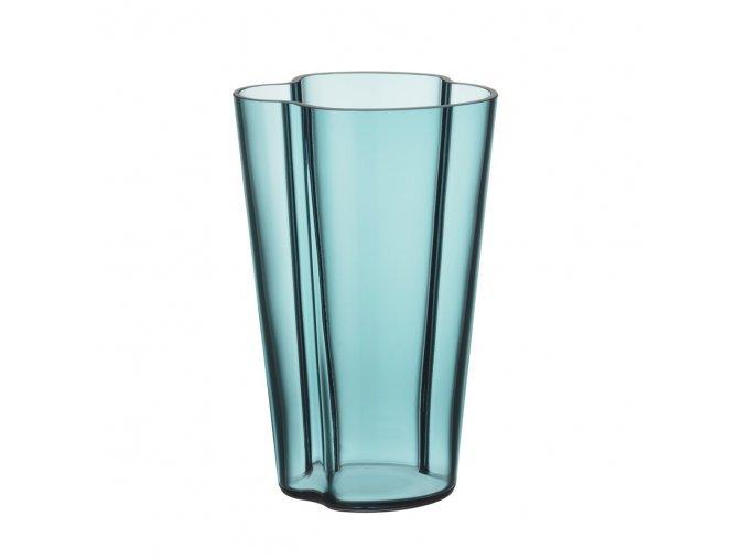 Váza Alvar Aalto iittala 22 cm modrá sea blue