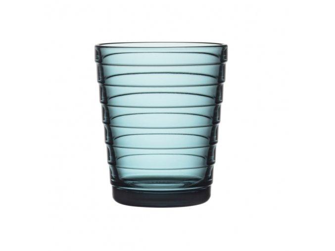 Sklenice Aino Aalto iittala 0,22 l modrá sea blue 2 ks