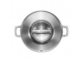 Nerezová pánev s pokličkou na na pečení Norden 28 cm