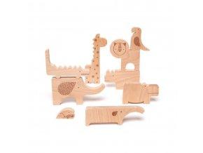 Petitcollage Zábavné puzzle Safari (2)
