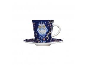 Šálek a podšálek espresso Taika Iittala modrá