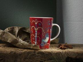 Taika cappuccino 0.2L red