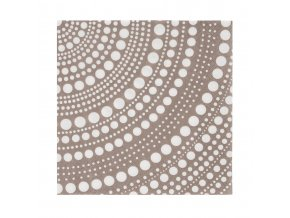 Papírové ubrousky Kastehelmi iittala 33 cm světle hnědé linen