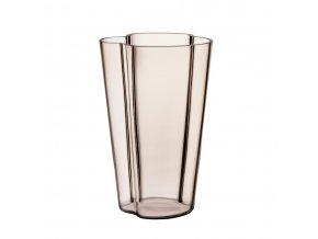 Váza Alvar Aalto iittala 22 cm světle hnědá linen