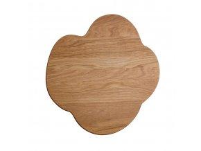 Dřevěný tác Alvar Aalto iittala větší dubový
