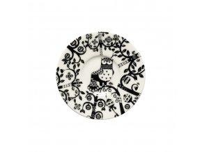 Podšálek espresso Taika iittala 11 cm černý
