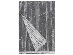 Deka METSÄ Lapuan Kankurit 140x180 cm tmavě šedá