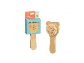 Dětský kartáč medvídek Petitcollage