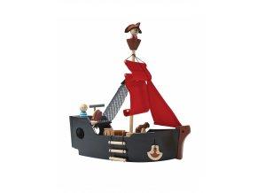 Pirátská loď Plantoys