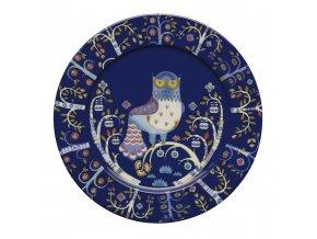 Talíř Taika iittala 30 cm modrý