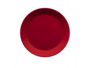 Talíř Teema iittala 21 cm červený