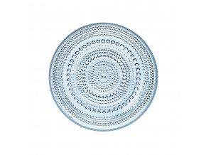 Talíř Kastehelmi iittala 17 cm světle modrý