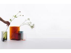 Váza Ruutu Iittala 205x270 měděná