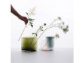 Váza Ruutu Iittala 205x180 zelená
