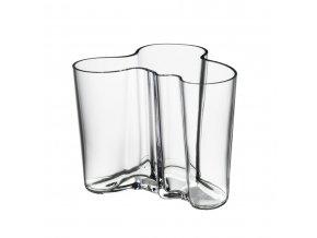 Váza Alvar Aalto iittala 12 cm čirá