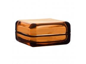 Velký box Vitriini Iittala oranžová