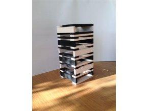 Kapla 100 black&white – stavebnice ze dřeva
