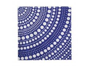 Papírové ubrousky Kastehelmi iittala 33x33 cm modré