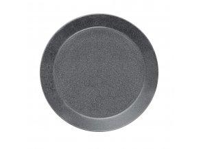 Talíř Teema iittala 26 cm šedý s tečkami