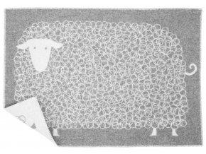 Deka KILI 90x130 cm Lapuan Kankurit šedá