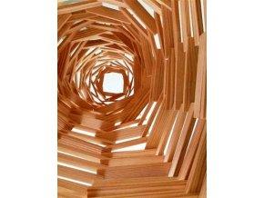 Kapla 280 – dřevěná stavebnice