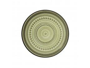 Talíř Kastehelmi iittala 17 cm mechově zelený