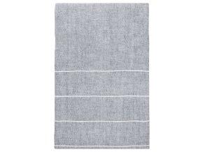Ubrus KASTE Lapuan Kankurit 150X260 cm šedo–bílý