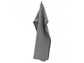 Utěrka / malý ručník MAIJA Lapuan Kankurit 48x70 cm černý