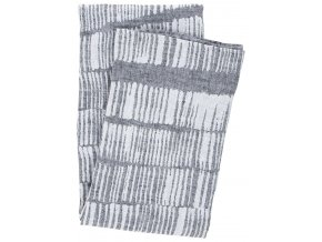 Osuška UITTO Lapuan Kankurit 95x180 cm šedo–bílá *