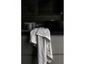 Osuška USVA 95x180 cm Lapuan Kankurit béžovo–bílá