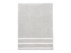 Osuška USVA Lapuan Kankurit 95x180 cm béžovo–bílá *