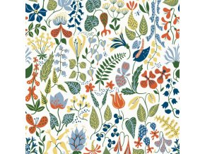 Tapeta Herbarium BorasTapeter bílá