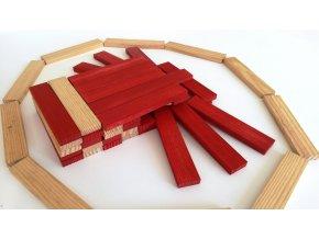 Kapla 200 – dřevěná stavebnice