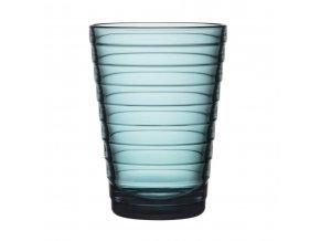 Sklenice Aino Aalto iittala 0,33 l modrá sea blue 2 ks