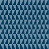 Tapeta Trapez BorasTapeter tmavě modrá / světle šedomodrá