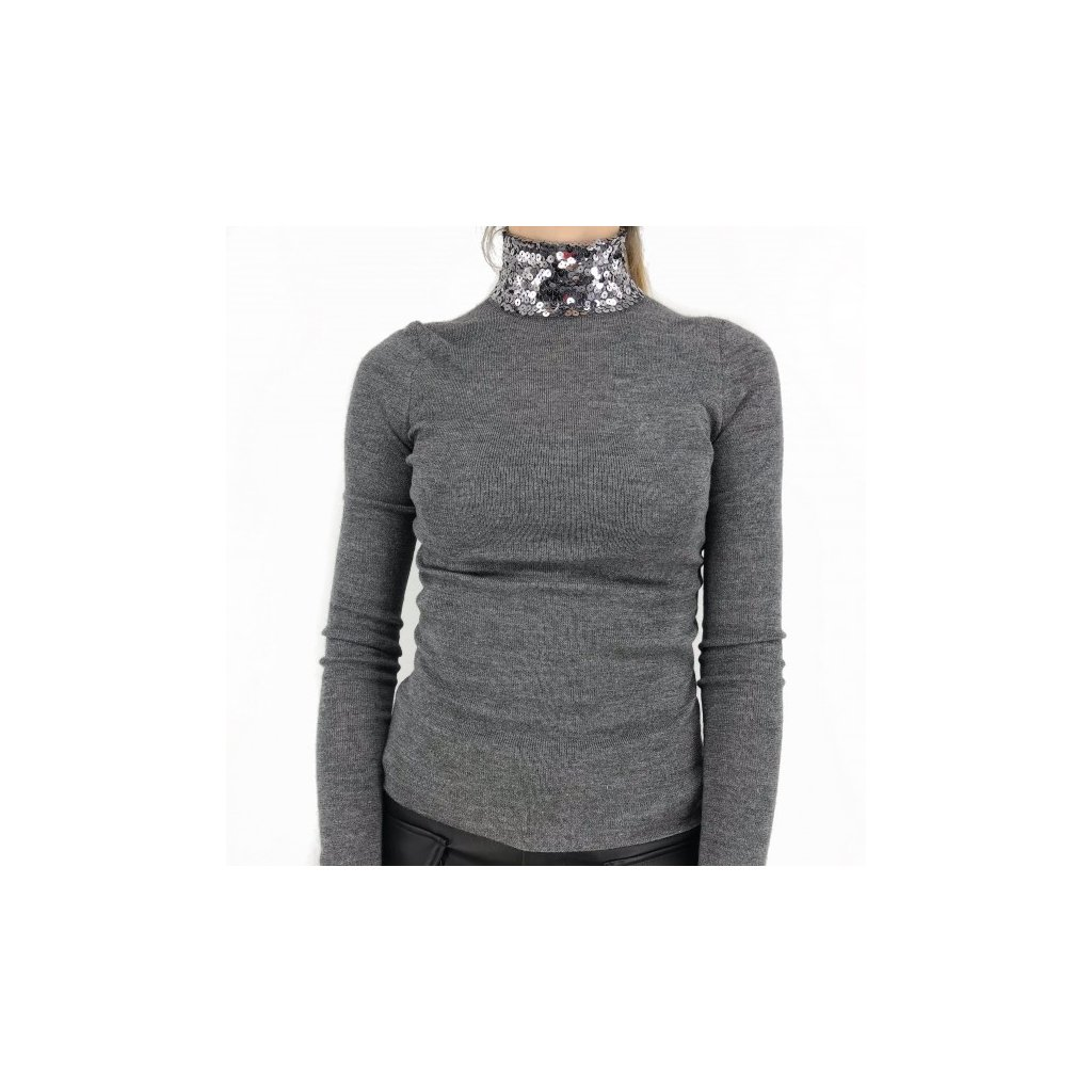 CHRISTIAN DIOR Grey Sweater