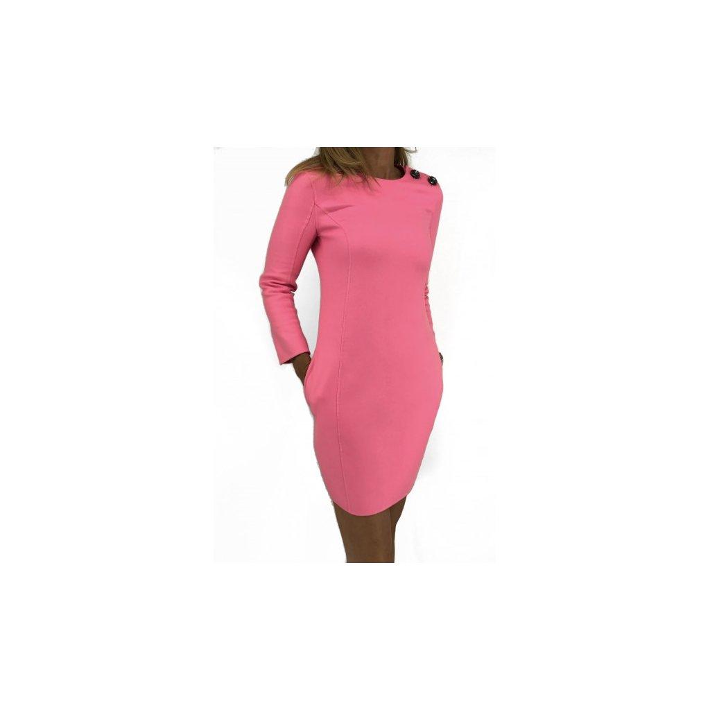 Christian Dior pink 100% cashmere dress