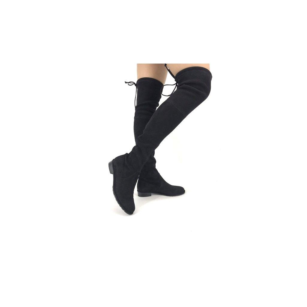 STUART WEITZMAN Black High Boots New 36,5