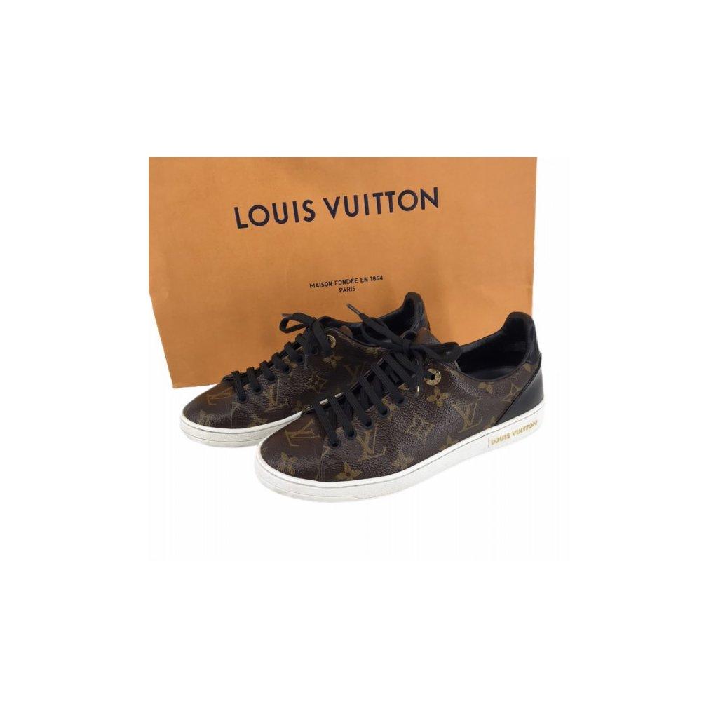 LOUIS VUITTON Monogram Canvas Frontrow Sneakers