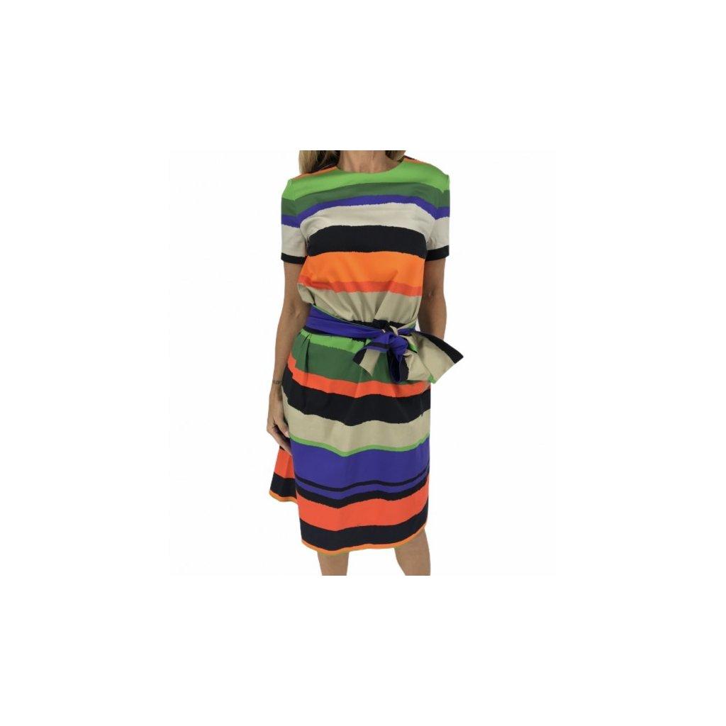 ESCADA Colorful Dress