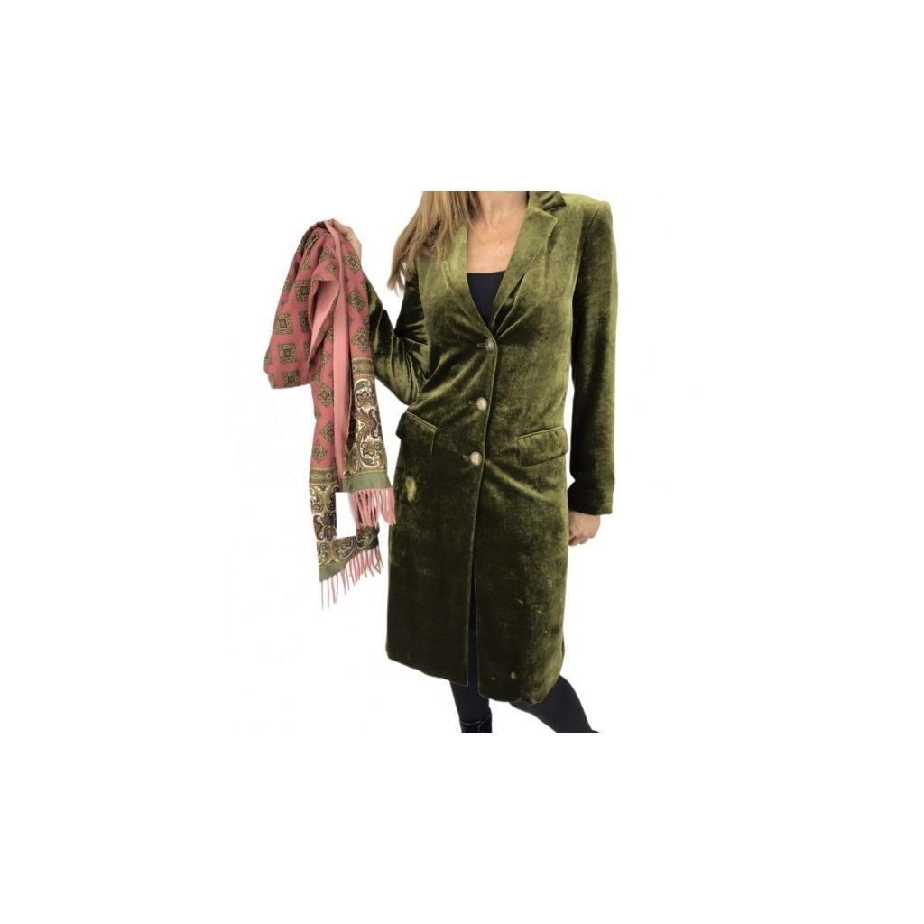 ETRO Suede Coat