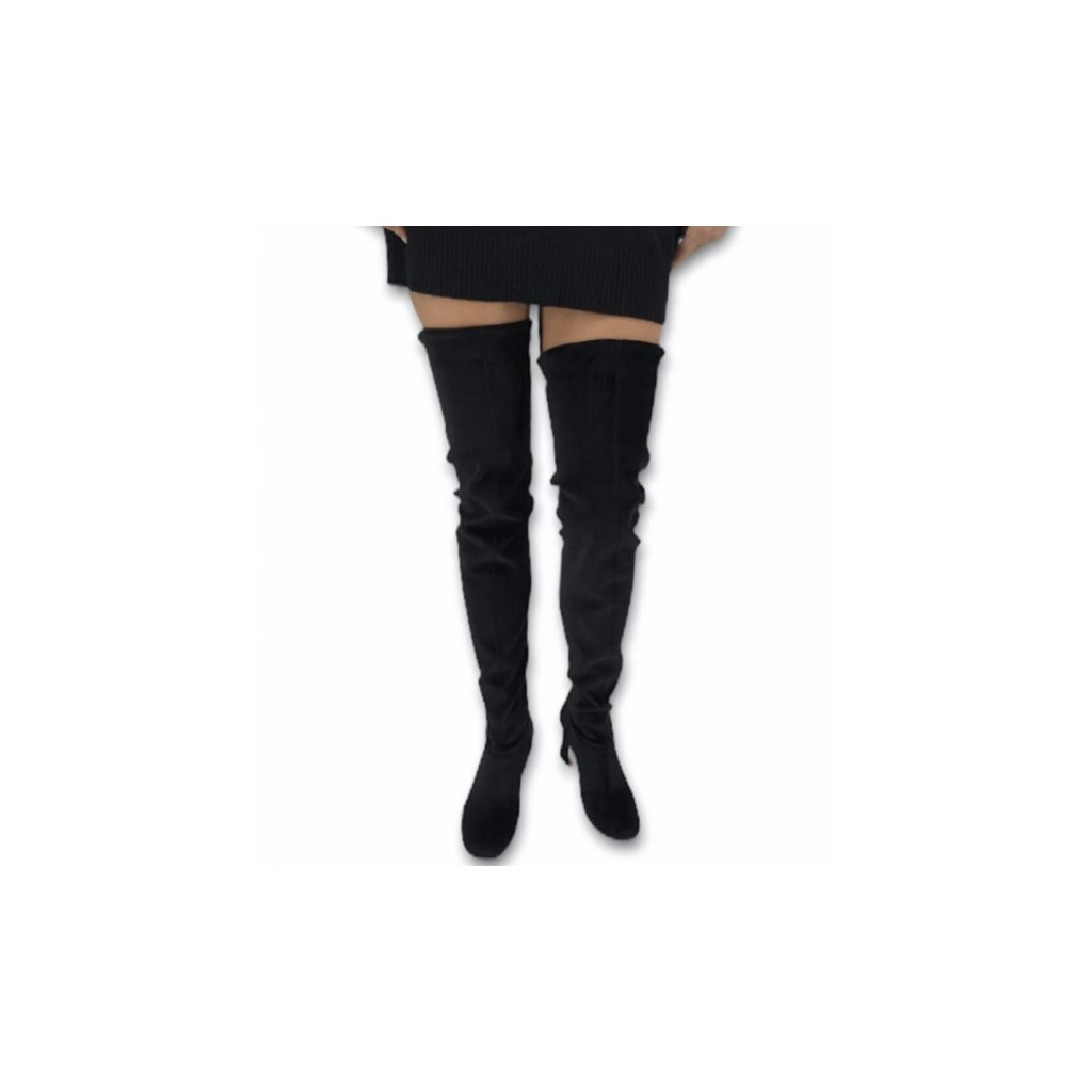 ALBERTA FERRETTI Black High Boots 39