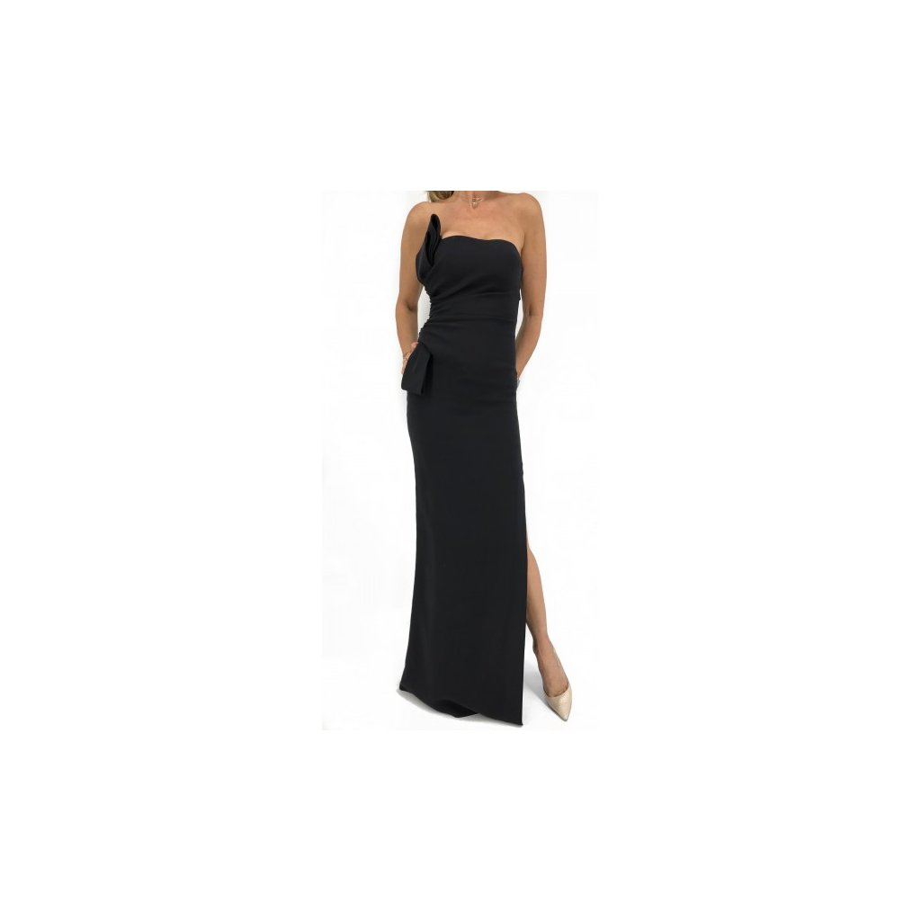 VALENTINO Black Dress with Slit
