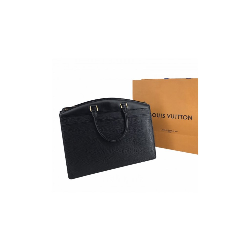 LOUIS VUITTON Riviera Black Epi Leather