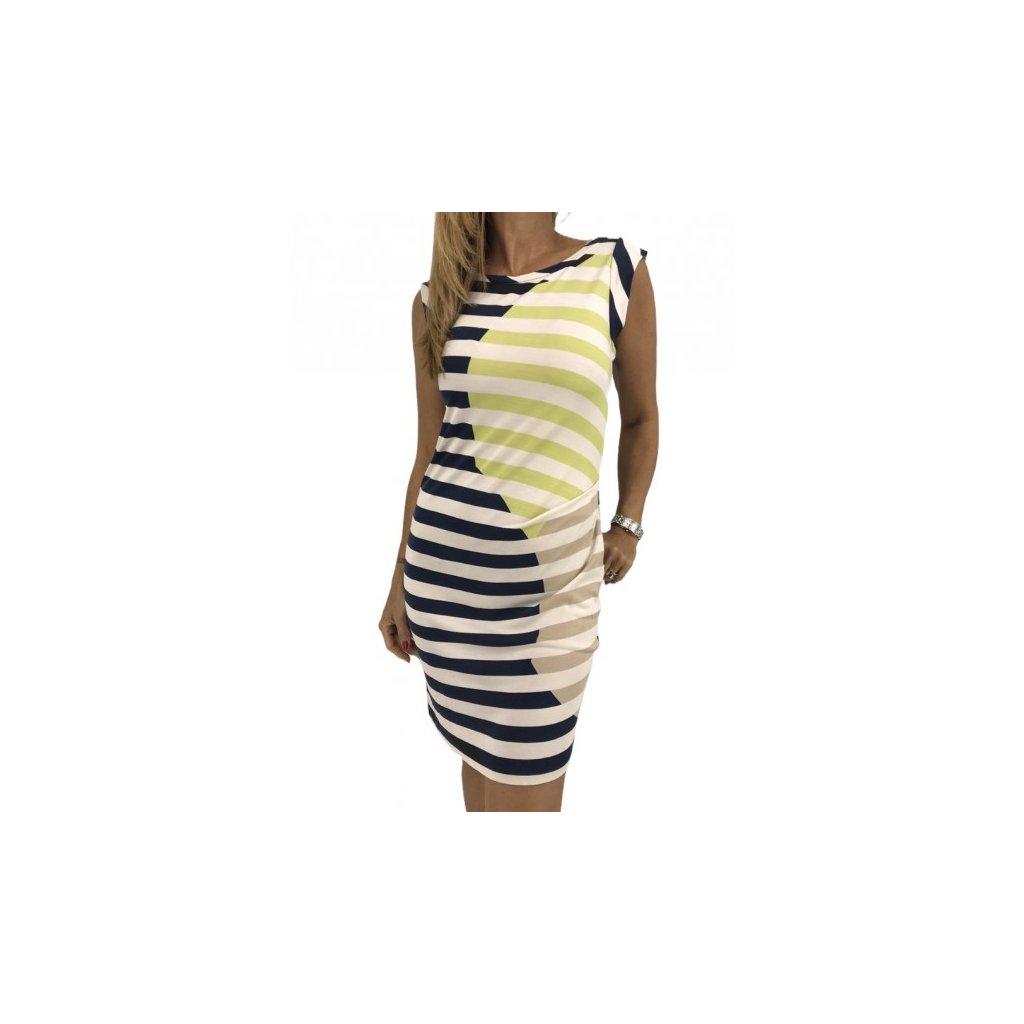 DIANE VON FURSTENBERG Silk Striped Dress