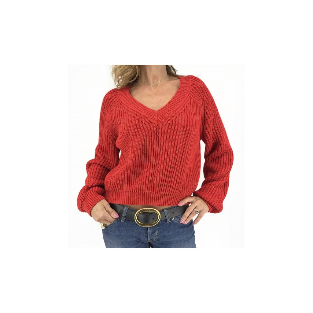 SPORTMAX Red Sweater