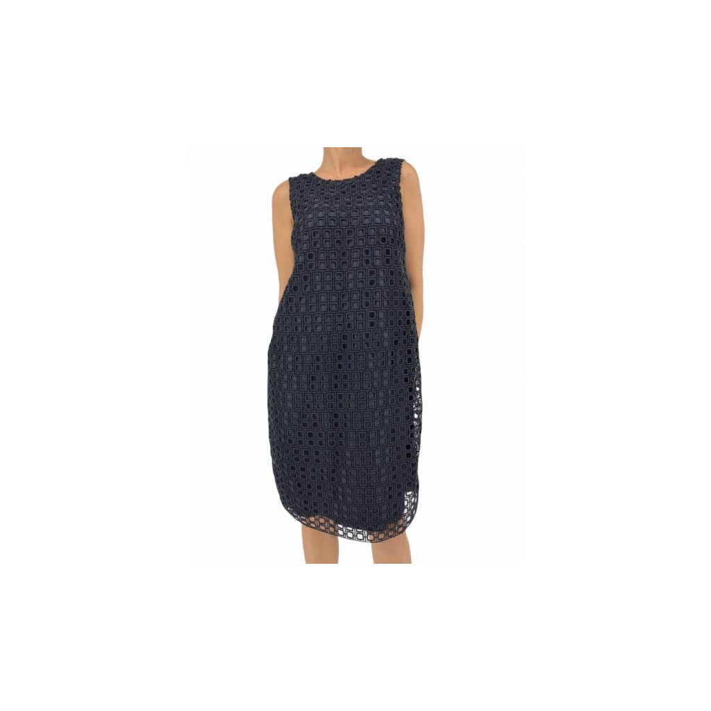 MAX MARA Dark Blue Dress