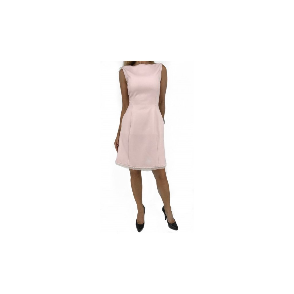 CHRISTIAN DIOR Baby Pink Dress with Pockets