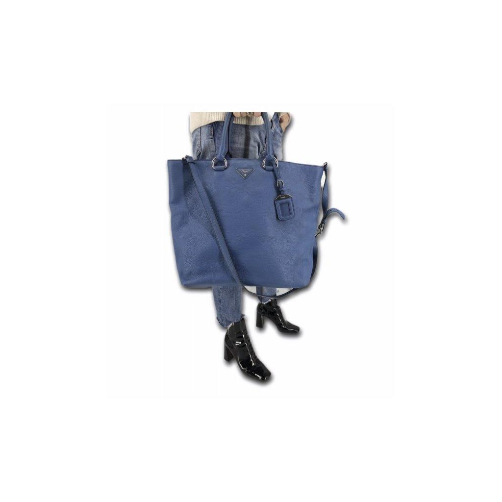 PRADA Blue Bag with Strap
